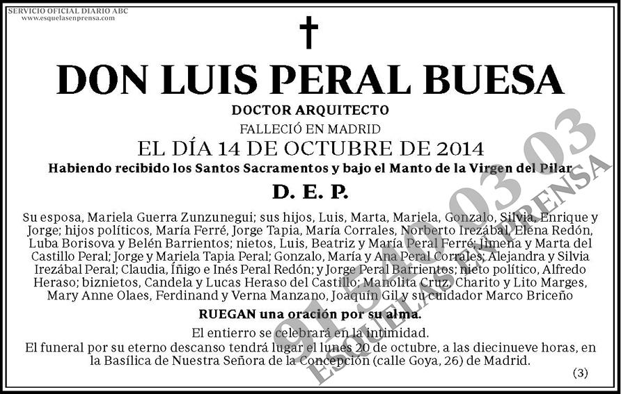 Luis Peral Buesa